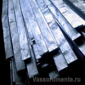 Полоса стальная оцинкованная 100х5 мм ст3 6 м ГОСТ 9.307-89