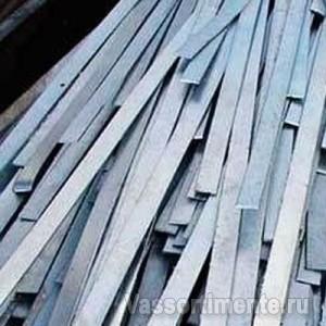 Полоса стальная оцинкованная 25х4 мм ст3 6 м ГОСТ 9.307-89