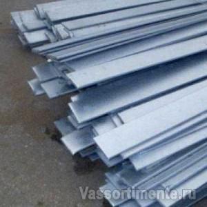 Полоса стальная оцинкованная 40х10 мм ст3 6 м ГОСТ 9.307-89