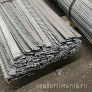 Полоса стальная оцинкованная 50х6 мм ст3 6 м ГОСТ 9.307-89