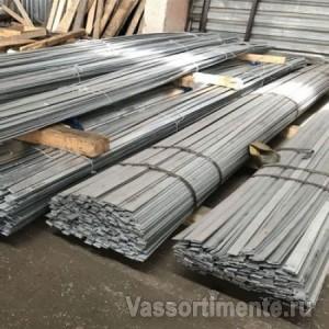 Полоса стальная оцинкованная 50х8 мм ст3 6 м ГОСТ 9.307-89
